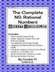 The Complete 6th Grade NS:Rational Numbers Unit Bundle-6.N