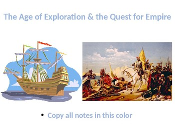 The Complete Age of Exploration and Quest for Empire Power