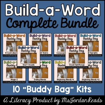 """The Complete """"Build-a-Word"""" Buddy Bag BUNDLE"""