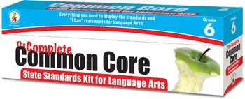 The Complete Common Core State Standards Kit for Language