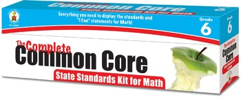 The Complete Common Core State Standards Kit for Math Grad