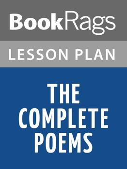 The Complete Poems Lesson Plans