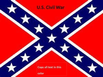 The Complete U.S. Civil War Powerpoint Unit