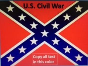 The Complete U.S. Civil War & Reconstruction PowerPoint Un