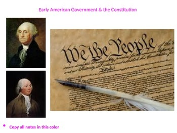 The Complete U.S. History Powerpoint on the Early American