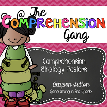 The Comprehension Gang: Reading Comprehension Strategy Pos