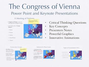 The Congress of Vienna PowerPoint Keynote Presentations