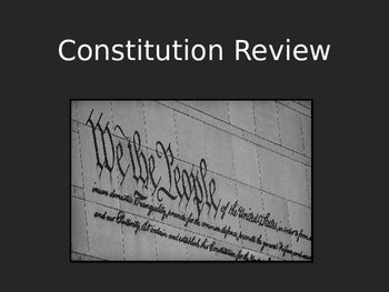 Constitution Review