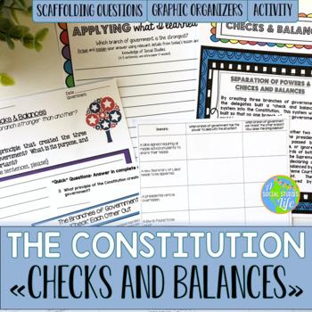 Constitution - Checks and Balances