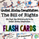 Lesson: The Bill of Rights with BONUS Flash Cards