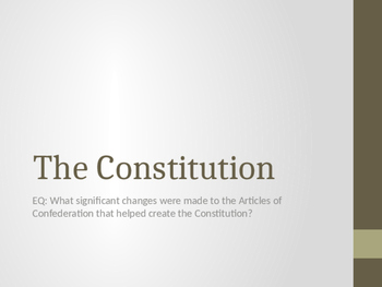 The Constitution PowerPoint