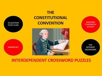 The Constitutional Convention:  Interdependent Crossword P