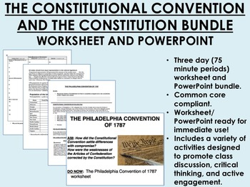 The Constitutional Convention and the Constitution Bundle