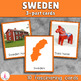 The Nordic countries Montessori 3-part Cards Bundle