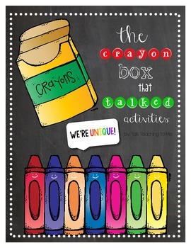 The Crayon Box That Talked Read Aloud Activities