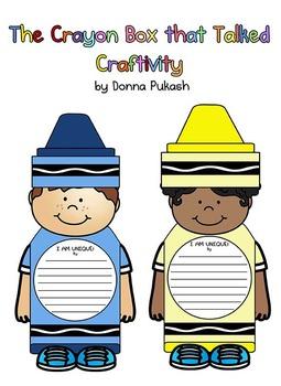 The Crayon Box that Talked-Crayon Kids Craftivity