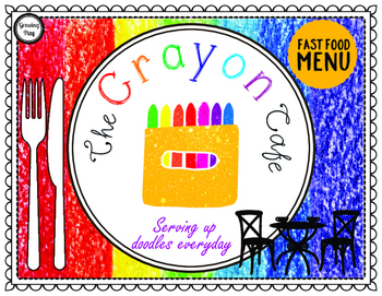 The Crayon Cafe - Drawing and Pretend Play