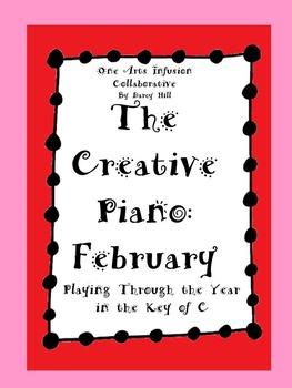The Creative Piano- February Sheet Music