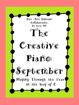 The Creative Piano- September Sheet Music