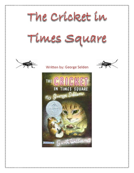 The Cricket in Times Square Comprehension