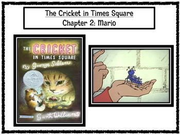 The Cricket in Times Square Chapter 2 Excerpt PARCC-Like A