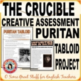 The Crucible-A Puritan Tabloid-Creative Project for Compre