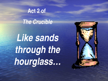 The Crucible Act 2 PowerPoint Review