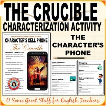 The Crucible-Create a Character Cell Phone--Fun and Effective!