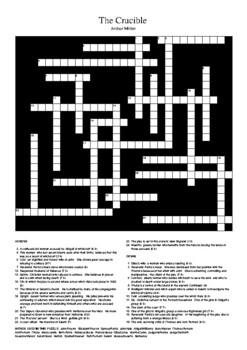 The Crucible - Crossword Puzzle