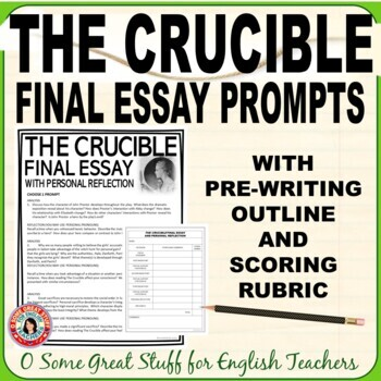 The Crucible Final Analysis and Reflection Essay Activity