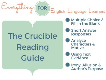 The Crucible Reading Guide