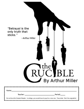 The Crucible Student Reader (packet) - Common Core Ready!