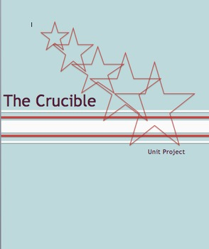 The Crucible Unit Project:  Research and Real World Writin