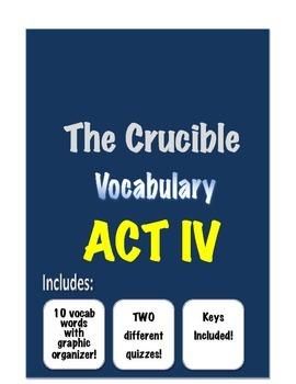 The Crucible - Vocabulary- ACT IV
