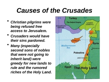 the crusades free dbq Then, just as the crusaders had been inspired at least in part by  themselves  free men who owed allegiance only to a sovereign some lords.