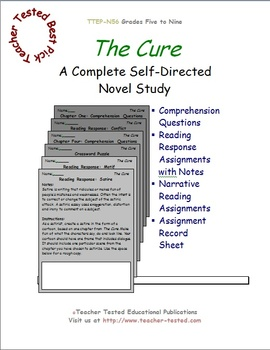 The Cure: A Complete Novel Study