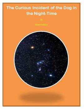 The Curious Incident of the Dog in the Night-Time Homework Bundle