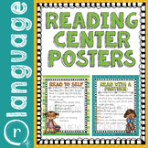 Reading and Writing Center Posters