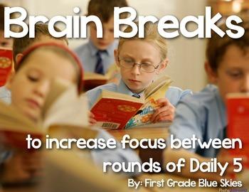 The Daily Five {Brain Breaks}