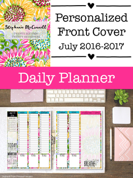 The Daily Planner {Personalized}