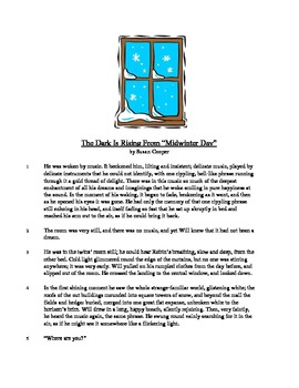 The Dark is Rising - Literary Text Test Prep