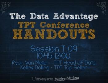 The Data Advantage: Optimize Your Store {TPT Session T09}