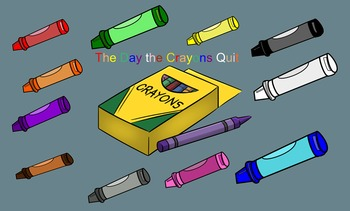 The Day The Crayons Quit Smartboard Retell and Letter Iden