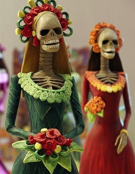 The Day of the Dead: Art & History (Halloween) PowerPoint