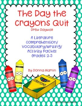The Day the Crayons Quit Cause and Effect, Multiple Meanin