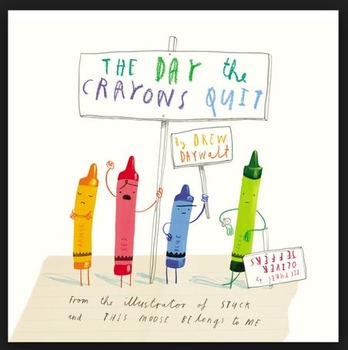 The Day the Crayons Quit - Favorite Crayon Color - Activit