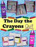 The Day the Crayons Quit – Interactive Notebook, Activitie