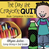 The Day the Crayons Quit Reading Response Activities & Wri