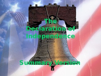 Foundations of Government - The Declaration of Independence