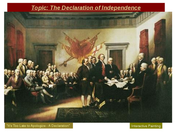 The Declaration of Independence - 4 Major Principles